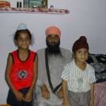 Harpal Singh with his two sons